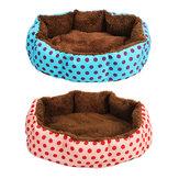 Łóżko dla kota Soft Nest Puppy Cushion Warm Kennel House Mat Zmywalny koc