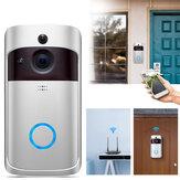 Smart 720P WiFi Video Timbre Seguridad en tiempo real Cámara Talk Visión nocturna PIR Detección de movimiento