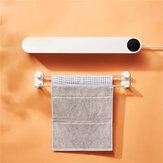 Happy Life Auto handdoekdroger Smart Human Body Sensor UV Sterilisatie 50 ℃ Constante temperatuur Luchtdroogmachine Opladen Drooghanger voor Smart Home