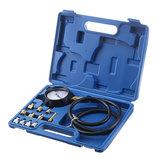 Öldruckmesser Test Tool Set Tester Manometer Diesel Benzin Autowerkstatt Zubehör