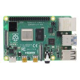 Raspberry Pi 4 Model B 1GB / 2GB / 4GB / 8GB Moederbord Moederbord met Broadcom BCM2711 Quad-core Cortex-A72 (ARM v8) 64-bit SoC @ 1.5GHz