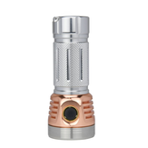 Astrolux MF01 Mini Copper Aluminum  7* SST20 5500LM Type-C Rechargeable Campact EDC Flashlight 26650 21700 18650