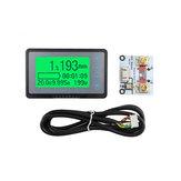 TF03K 100V50A Coulomb Zähler Meter Batterie Kapazitätsanzeige Spannung Stromanzeige TTL232 Li-Ion Lithium lifepo Bleisäure eBike RV mit 1M Abgeschirmtem Kabel