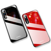 Bakeey Shockproof Anti-scratch Tempered Glass Back Cover Protective Case for iPhone XS Max