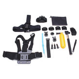 23 In 1 Selfie Stick Mount Wrist Chestre حزام Kit for Gopro Hero 3 4 3 Plus SJCAM EKEN SJ4000 Sports الة تصوير