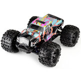 Eachine EAT02 1/8 4WD 2.4G RC Auto Brushless Big Foot High Speed 90km / h Drift Fahrzeugmodelle LKW Metall Chassis