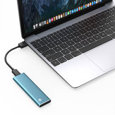 Type-C Gen1 NGFF Solid State Drive 256GB 512GB 1TB External Hard Drive USB3.1 SSD 420MB/s Support WTG for Mac