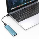 Type-C Gen1 NGFFソリッドステートドライブ256GB 512GB 1TB外付けハードドライブUSB3.1 SSD 420MB / s Mac用WTGサポート