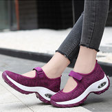 Women Casual Mesh Hollow Out Platform Sneaker
