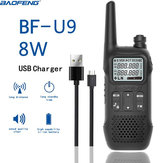 BAOFENG BF-U9 8W tragbarer Mini-Walkie-Talkie-Handfunkempfänger für zivile Funkverbindungen im Hotel