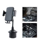 Supporto universale per telefono per auto con supporto per tazza da 360 ° per supporto per telefono cellulare 3.0-6.5 Pollici