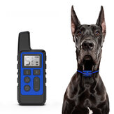 Dog Training Collar 500M Remote Control USB Rechargeable Waterproof Shock Electric Collar Anti Barking Device