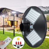 120W LED Solar Garden Light Pathway Yard PIR Motion Sensor Street Light+Remote