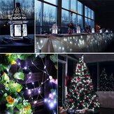 12M 100LED 8 modalità String Light USB Holiday Natale Decorativo lampada per ghirlanda di nozze per interni da interno per feste