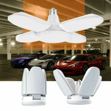 AC85-265V E27 60W Universal Deformable Foldable Garage Lamp 246LED Ceiling Adjustable Shop Light Bulb