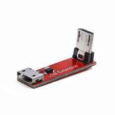 GEPRC 90 Degree L Typ Abgewinkeltes Micro-USB-Übertragungs-Verlängerungsmodul-Kabel, Buchse auf Stecker für RC-Drohne