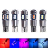 T10 W5W 194 Super Bright 6W LED Car Side Marker Lights Auto Wedge Tail Brake Bulb Dome Lamp