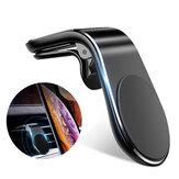 Magnetyczny uchwyt samochodowy na telefon Uchwyt nawigatora Metalowy uchwyt samochodowy
