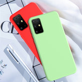 Bakeey Smooth Shockproof Soft Liquid Silicone Rubber Back Cover Protective Case for Samsung Galaxy S20