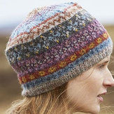 Women's Casual Color-Block Knitted Hats