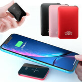Bakeey 20000mAh Qi Draadloze oplader LED Display Mini Power Bank Snel opladen voor iPhone Android