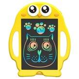 8,5 inch Cartoon schrijfblok Tablet LCD Kid tekentafel geel