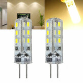 Kingso G4 1.5W Non-dimmable Warm White SMD3014 LED Light Bulb for Car Boat Chandelier Indoor Use