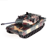RBR / C M1A2 1/18 2.4G RC Tank Car Vehicle Models Battle Toy