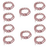 10PCS 5m 60 Cores Servo Extension Wire DuPont Cable Twist Cable For RC Airplane