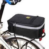 B-soulバイクバッグバッグ多目的防水バイクバッグ自転車リアラックシートサドルバッグバイクテールライト付き