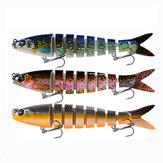 Proberos® 1PC 135mm 19g Multi Hard Bait Sea Fishing Lure 4D Fish Lures With 2 Hooks