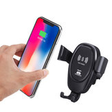 Bakeey Car Gravity Mount Qi Wireless Charger For iPhone X 8 Plus iPhone XS Plus iPhone