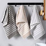 34X74CM Baño de algodón Toalla Paño de manos para el cuidado de la cara Soft Toalla