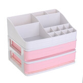 Plastic Cosmetic Box Drawer Makeup Organizer Makeup Desktop Storage Box Container Nail Casket Holder Jewelry Organizer Desktop Organizer