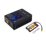 ToolkitRC M6 MINI 150W 10A Smart Battery Charger Black with XT60 Charger Board for 2-6S Lipo Battery