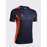 Mens Outdoor Quick-drying Breathable O-neck Short Sleeve