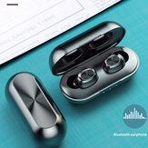 Bakeey B5 inalámbrico bluetooth 5.0 TWS Auriculares digitales Pantalla Auricular Impermeable Stereo Sport Music Auriculares