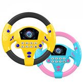 1 PC Learn and Play Driver Baby Wheel Toddler jouets musicaux avec lumières sons
