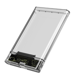 2.5inch SATA I / II / III Hard Disk Transparent USB3.0 / USB2.0 HDD Hard Drive Enclosure Storage Case