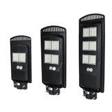 80W 140W 180W Super مشرق Solar Street ضوء Outdoor ضد للماء PIR Motion المستشعر Yard Courtyard Deck Garden Wall Lamp