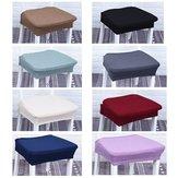 Staubdichte abnehmbare elastische Stretch-Schonbezüge Home Dining Chair Sitzbezüge