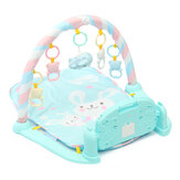 3 In 1 Kids Baby Play Mat Piano Music Musical Light Controller Floor Activity Baby Recreation