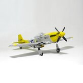 Hookll Mustang P51 V2 EPO 1200mm Wingspan RC Airplane Ala fissa KIT / PNP