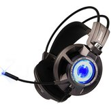 SOMiC G954 Virtual 7.1 Surround USB Gaming Luminous Headphone Headset With Microphone for Computer Profession Gamer