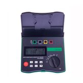 DUOYI DY4300 Digital Earth Resistance Tester 4-Terminal Ground and Soil Resistivity Tester