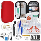 Full 304PCS Outdoor Emergency Survival Kit Gear Medical Bag for Home Office Car Boat Camping Hiking