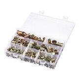 Suleve MXZN7 300 قطع مختلط الصلب برشام الجوز ريفينوتس الغمياء المكسرات M3-12mm الجوز إدراج برشام تشكيلة أطقم
