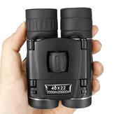 Mini 40x22 Klappteleskop wasserdicht Fernglas Nachtsicht Camping Travel