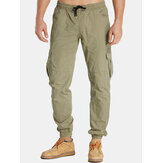 Jogger da uomo Twill Tapered Chino Active Carico Casual Pantaloni T