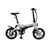[EU Direct] ONEBOT S6 6.4Ah 36V 250W 16inch Folding Moped Bicycle 3 Modes 25km/h Top Speed 50km Mileage Range Electric Bike Max Load 120kg